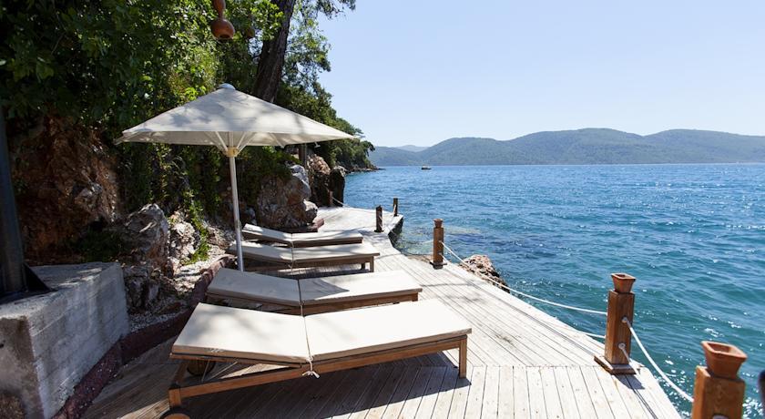 โรงแรมอัคยากาบีชในที่ท่องเที่ยวตุรกี