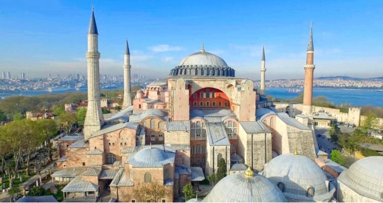เที่ยวสุเหร่าโซเฟีย, อิสตันบูล (Hagia Sophia, Istanbul)