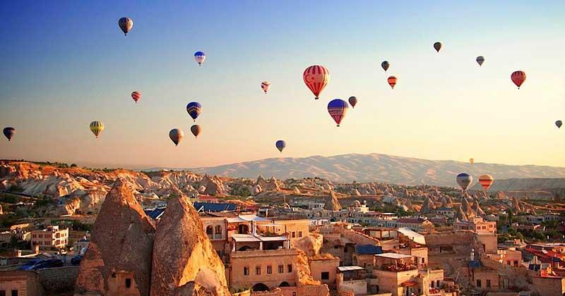 เมืองมรดกโลกคัปปาโดเกีย ตุรกี