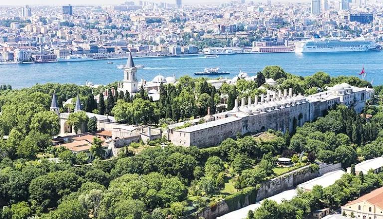 เที่ยว Topkapi Palace พระราชวังโทพคาปึ