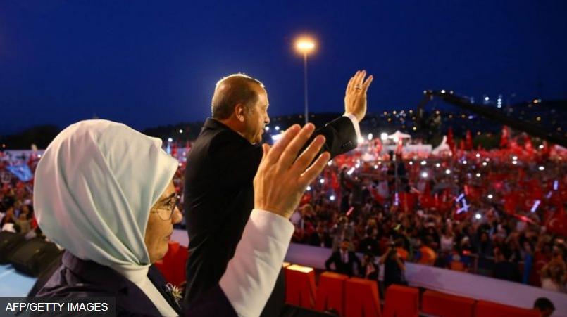 ประธานาธิบดีเรเจป ทายยิป แอร์โดอัน ของตุรกี