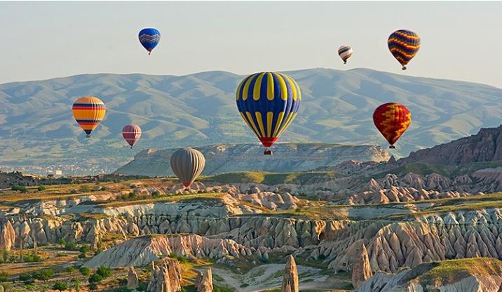 แคปพาโดเชีย ประเทศตุรกี เมืองแห่งบอลลูน