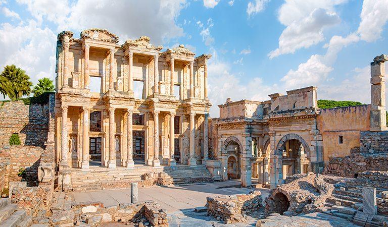 เมืองโบราณเอฟิซัส ประเทศตุรกี